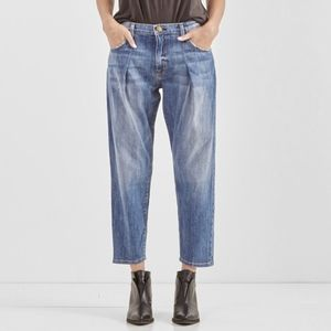 Current/Elliott The Goldminer Pleated Jeans